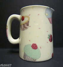 Heron Cross Pottery Cup Cakes Chintz English 1/4 Pint Cream Jug