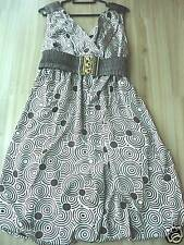 BRAND NEW Elegant Empire-cut Satin Dress with belt