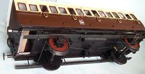1 Gauge [10mm scale] GWR Coach