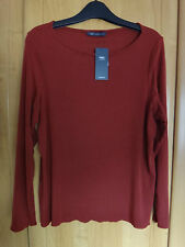 M & S 2 x Ribbed Thermal Heatgen T-Shirt BNWT Size 22