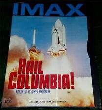 JAMES WHITMORE, Hail Columbia!, IMAX DVD, NEW (SPACE SHUTTLE)