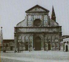 Exterior of Santa Maria Novella, Florence,Italy,Magic Lantern Glass Slide