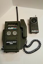 Rare 1982 Vintage G.I. Joe Walkie-Talkie Collectable Toy & Mobile Field Unit