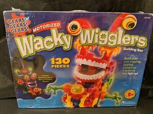 Gears Gears Gears Wacky Wigglers Motorized Building Set