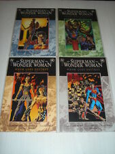 SUPERMAN WONDER WOMAN WHOM GODS DESTROY 1-4 SET DC GN