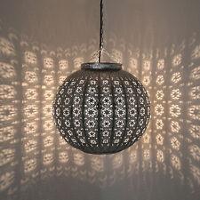 Lámpara Oriental D 38cm Marroquí Lámpara de Techo Lámpara Colgante Hecho a Mano