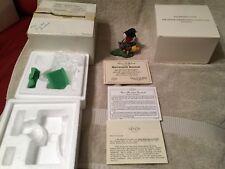"LENOX-1991""ROSE BREASTED GROSBEAK "" PORCELAIN  MINT COA, ORIG BOX, SHIP BOX RARE"