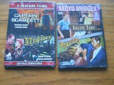 ABILENE TOWN, TRAPPED, CAPTAIN SCARLETT, MUTINY DVDS  BRAND NEW FACTORY WRAPS