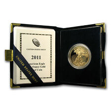 2011-W 1 oz Proof Gold American Eagle Coin - Box and Certificate - Sku #62461