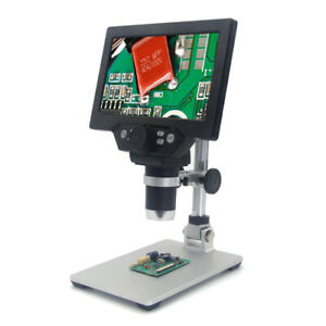 G1200 Digitales Mikroskop 7-Zoll-LCD-Display mit großem Farbdisplay und K1X5