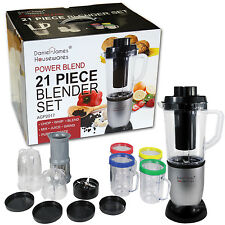 Food Processor Smoothie Maker Power Mélange Mélangeur Set de glace hachoir hachoir à viande