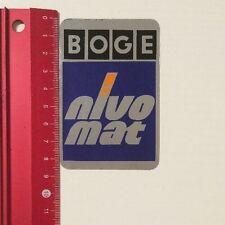 Aufkleber/Sticker: BOGE - Nivo Mat (200416183)
