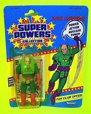 Kenner SUPER POWERS LEX LUTHOR Action Figure DC COMICS 1984  w Mini Comic Book