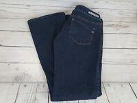 Express Stella Bootcut Regular Fit Low Rise Blue Wash Women Jeans Size 2 Regular