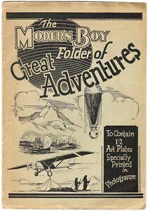 Modern Boy Great Folder of Adventures