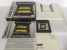Joust Defender Nintendo Game Boy Color PAL Complete Tested Working Exc Condition