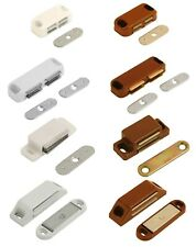 Magnetic Catches Cupboard Door Magnetic Catches Heavy Duty White Brown