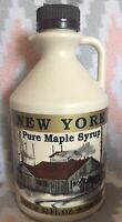 100% NY Pure Maple Syrup Grade A Dark Robust Quart (32oz) (tammismaple)