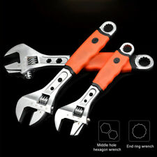 Adjustable Wrench Spanner Universal Quick Grip Multi-functIon 8''/10''12'' Tool