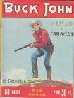 BUCK JOHN N° 126 DE DECEMBRE 1958 EDITIONS IMPERIA