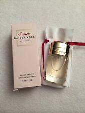 Cartier Baiser Vole Edp 15ml/.5oz Women Eau De Parfum With Pouch New In Box