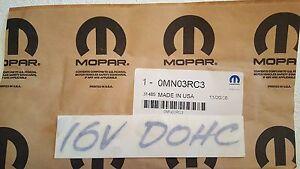 02-05 Dodge Neon Trunk CHRYSLER Nameplate Emblem Factory Mopar New Oem