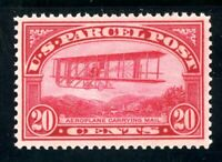 USAstamps Unused VF US 1913 Parcel Post Airplane Mail Scott Q8 OG MNH Fresh
