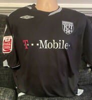 Signed Darren Carter Match Worn Players Issue Shirt West Bromwich Albion WBA 07