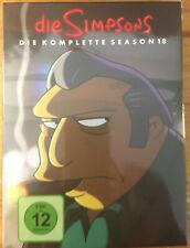 The Simpsons die komplette Season 18 DVD (2017) Deutsche & English New Shrink