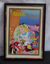 """Disney's Alice in Wonderland Small Framed Picture. 7 x 5"""""""