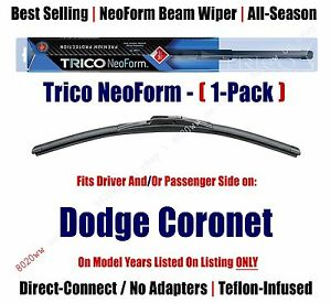 Super Premium NeoForm Wiper Blade (Qty 1) fits 1970 Dodge Coronet 16140