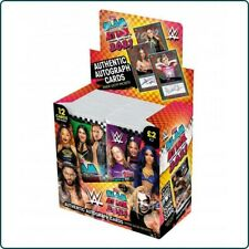 More details for topps wwe slam attax 2021 full box of 24 sealed packets (no box)