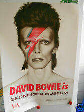 DAVID BOWIE IS, GRONINGER MUSEUM, ORIGINAL HIGH QUALITY V & A POSTER (SEALED)