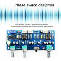 Low‑Pass Filter Preamplifier Component 2.1 Channel Preamp Board Subwoofer