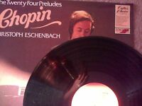 Christoph Eschenbach - Chopin - The 24 Preludes - Vinyl LP (Nr Mint)