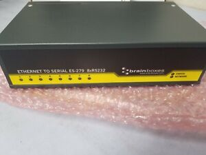 Brainboxes ES-279 8-port Rs232 Serial to Ethernet
