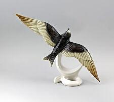 Porzellanfigur Vogel Alpensegler Ens 29x21,5cm 9941690