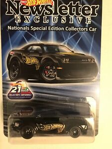Hot Wheels Newsletter Dodge Demon 21st Nationals Convention 2021 Only 775 Made