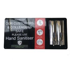 Wall Mounted Sanitising Station / Sanitiser Board Dispenser