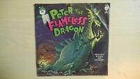 RARE Peter Pan Records PETER THE FLAMELESS DRAGON 45rpm 60s