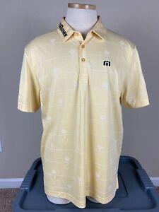 Travis Mathew Odyssey Short Sleeve Golf Polo Shirt Men's Size Large
