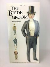Mamelok Press The Bride Groom Dress Up Paper Doll Made in England