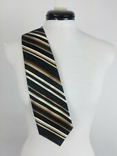 Pierre Cardin Multi Color Black Brown Men's Tie