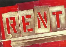 "Anthony Rapp ""RENT"" Adam Pascal / Shaftesbury Theatre 1998 London Postcard Set"