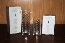 "Partylite 6"" & 9"" Tall Optic Colonnade Candle Holders – Nib"