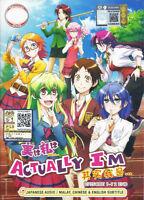 JITSU ACTUALLY I AM The Complete Anime TV Series Ep.1 - 12 End DVD Box Set