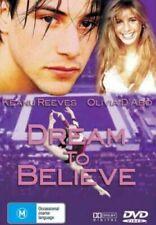 Dream to Believe DVD Sports Drama Gymnatics Keanu Reeves 1986 Film Olivia D'abo