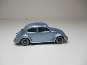 Lesney Matchbox #25B v-3 Volkswagen 1200 Sedan Beetle Restored. SPW . Near Minty