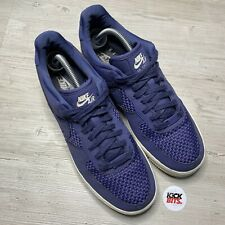 Nike Air Force 1 Blue Trainers Size 9 EU 44