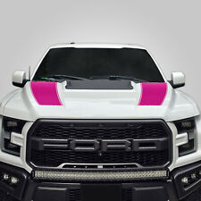 Hood Race Stripe kit for 2017 2018 2019 Ford Raptor F-150 Graphics Decals PINK